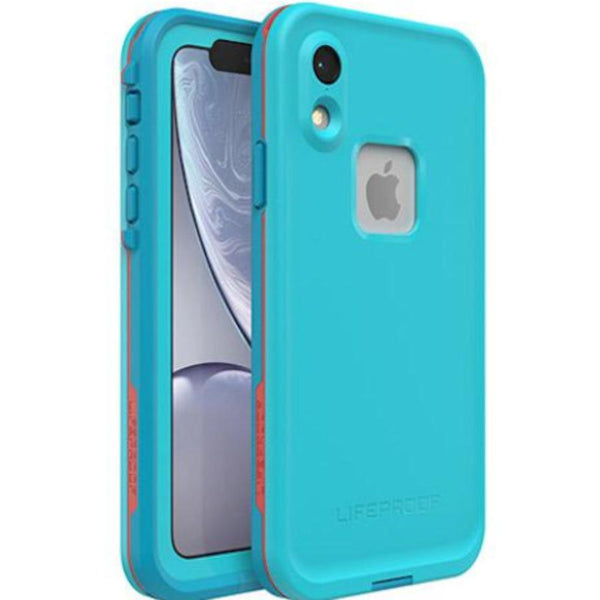 best waterproof case for iphone xr from lifeproof blue colour