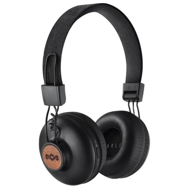Shop Australia stock HOUSE OF MARLEY POSITIVE VIBRATION BLUETOOTH WIRELESS ON EAR HEADPHONES - BLACK with free shipping online. Shop House of Marley collections with afterpay