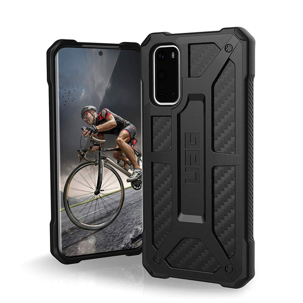 "Shop Australia stock UAG Monarch Handcrafted Rugged Case For Galaxy S20 (6.2"") - Carbon Fiber with free shipping online. Shop UAG collections with afterpay"