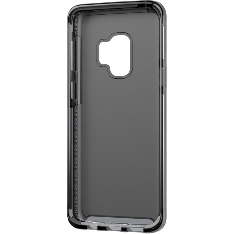 black colour tech21 evo luxe vegan leather flexshock case for galaxy s9  Australia Stock
