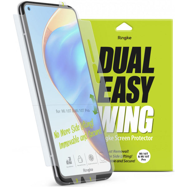 best screen protector dual easy for Xiaomi Mi 10T/10T Pro from australia biggest online store of Ringke authentic accessories.