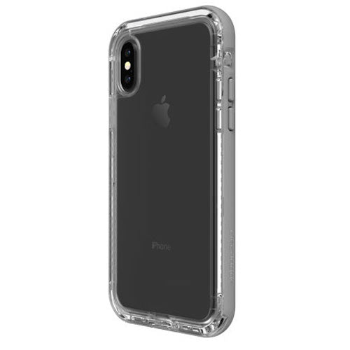 LIFEPROOF NEXT SERIES RUGGED CASE FOR iPHONE X - CLEAR/GREY Australia Stock