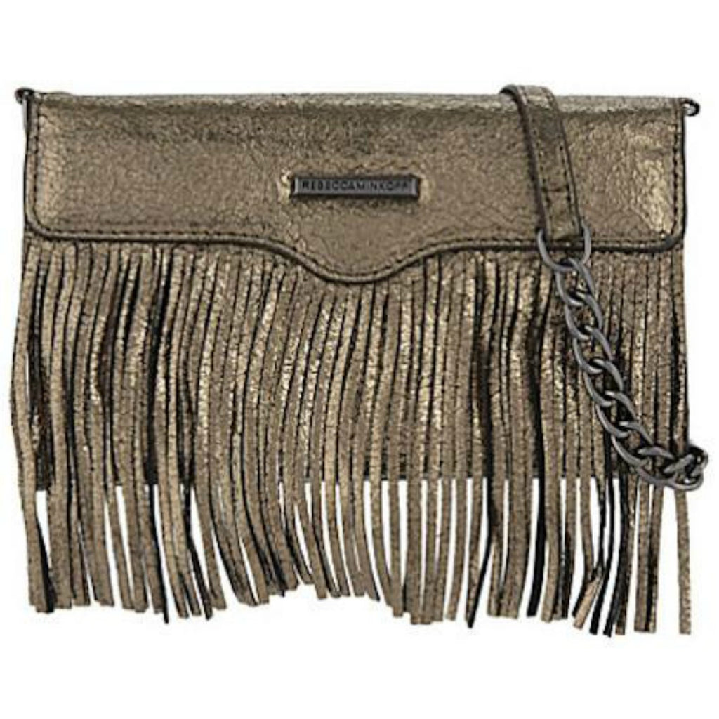 Shop Australia stock Rebecca Minkoff Universal Fringe Tech Leather Crossbody - Cracked Anthracite with free shipping online. Shop Rebecca Minkoff collections with afterpay Australia Stock