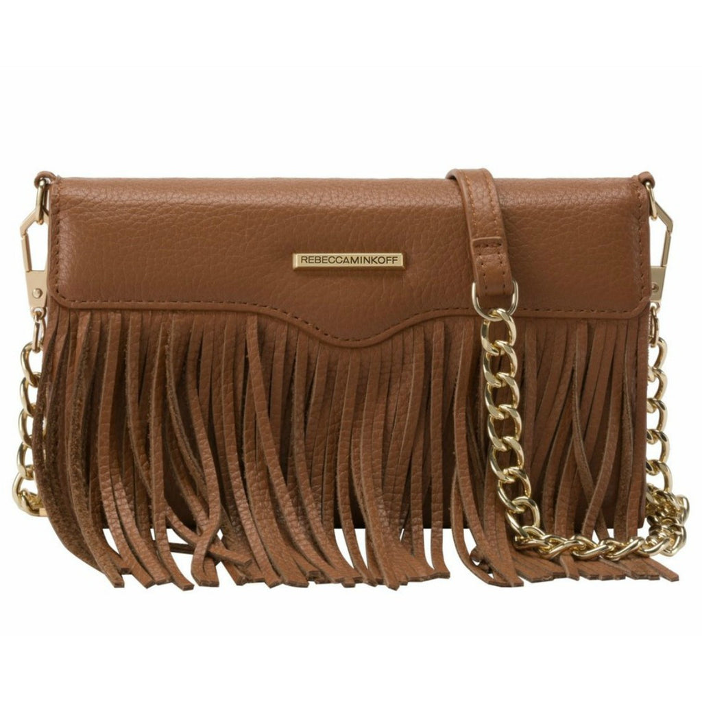 Shop Australia stock Rebecca Minkoff Universal Fringe Tech Leather Crossbody - Almond Pebble with free shipping online. Shop Rebecca Minkoff collections with afterpay Australia Stock