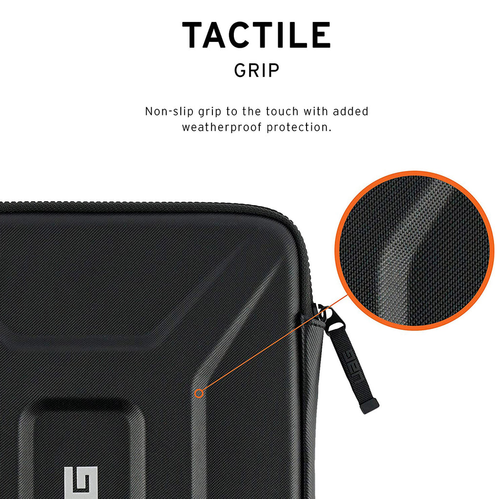 UAG Rugged Tactile Grip Protective Secure Sleeve For upto 13 inch Macbook/Laptops - Black Australia Stock