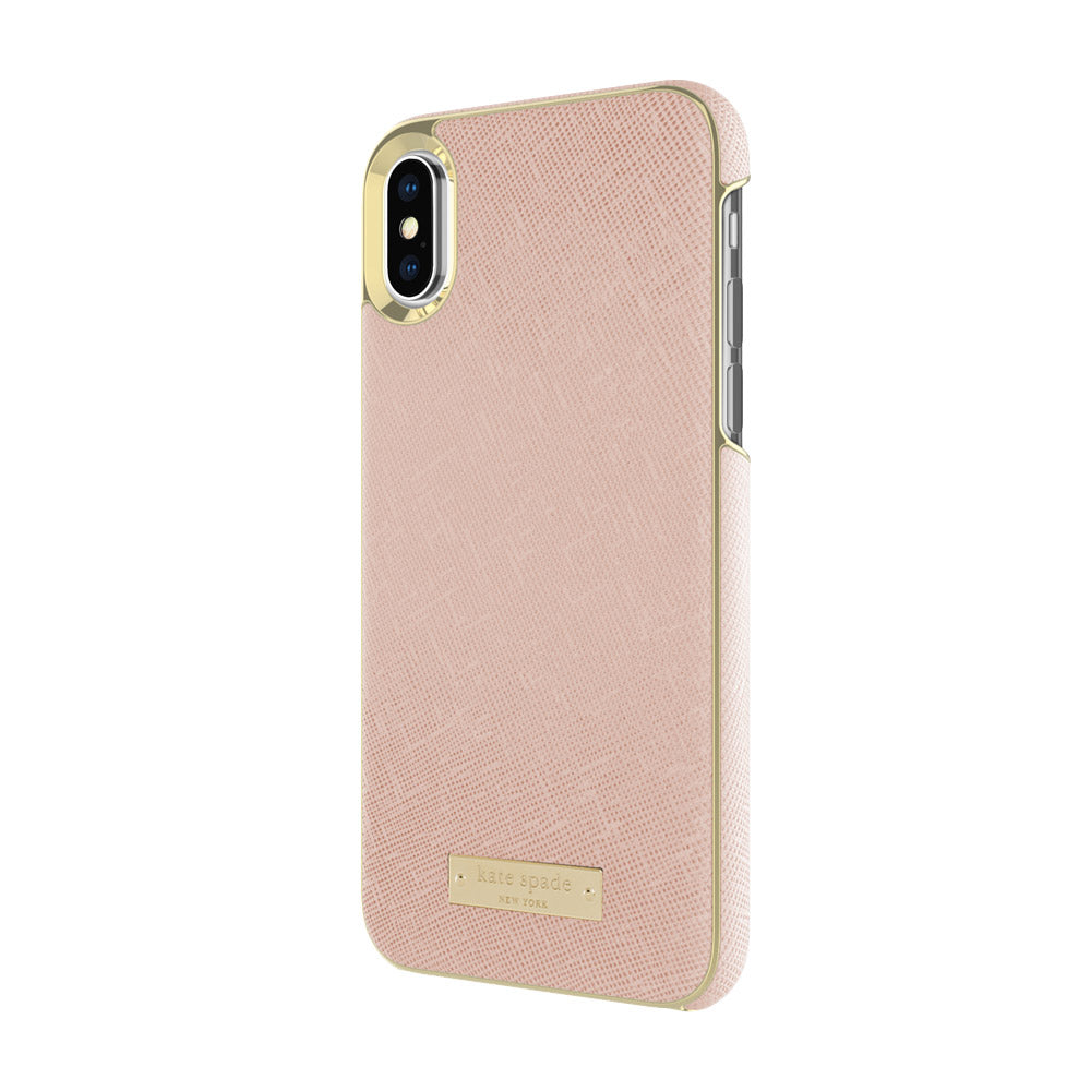 Shop Australia stock KATE SPADE NEW YORK WRAP CASE FOR iPHONE XS/X - SAFFIANO ROSE GOLD with free shipping online. Shop Kate Spade New York collections with afterpay Australia Stock