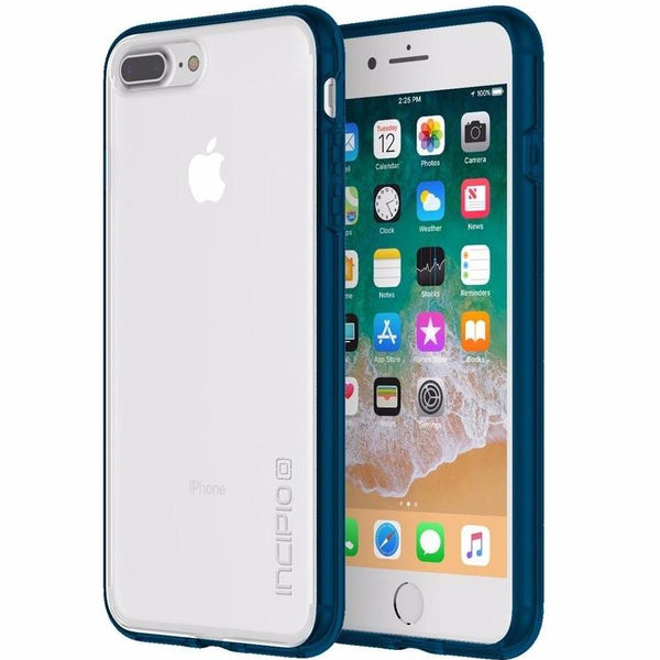 place to buy online in australia Incipio Octane Pure Translucent Co-Molded Case For Iphone 8 Plus/7 Plus - Clear/Navy. Free shipping australia wide.