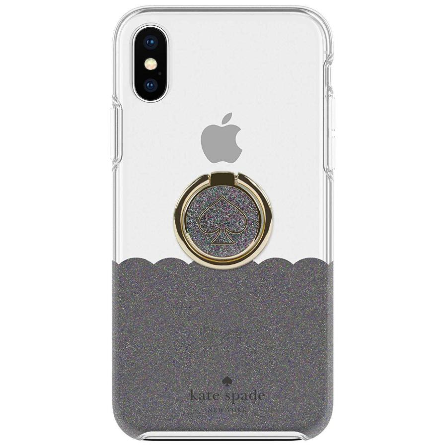 84cac6bf849c Iphone Xs Max Kate Spade New York Gift Set Case & Ring Stand Clear Grey
