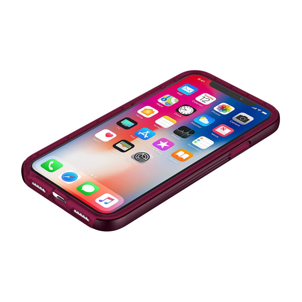 Shop Australia stock INCIPIO OCTANE LUX METALLIC ACCENTED BUMPERS CASE FOR iPHONE X/XS - MERLOT with free shipping online. Shop Incipio collections with afterpay Australia Stock