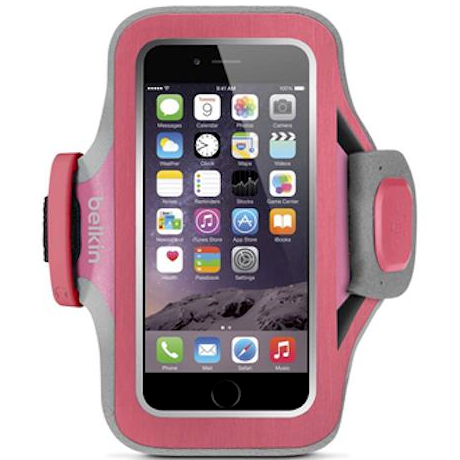 wheren to get Belkin Slim-Fit Plus Armband for iPhone 6S/6 - Pink australia