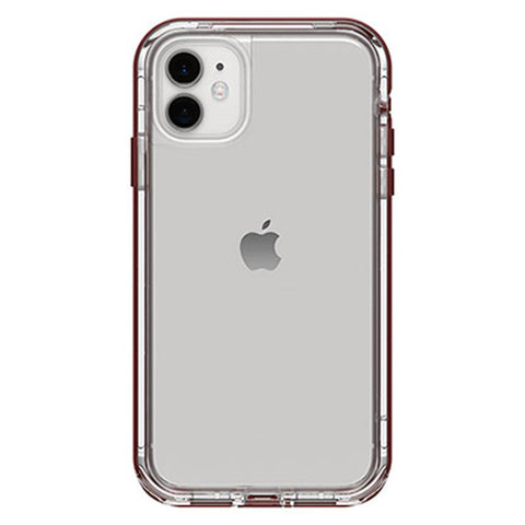 Australia lifeproof drop proof case with red bumper design for iphone 11