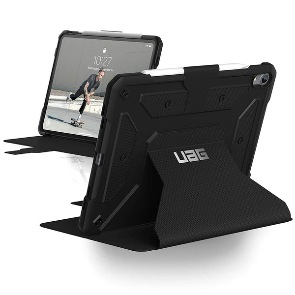 UAG METROPOLIS RUGGED FOLIO CASE FOR IPAD PRO 11-INCH - BLACK