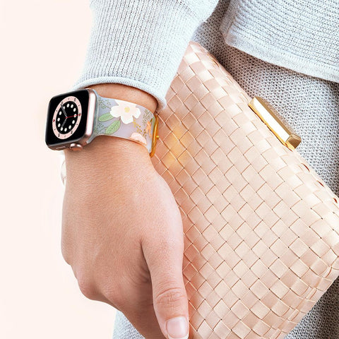 Make your apple watch more stylish with watch band from Rifle paper co. Shop online at syntricate and enjoy afterpay payment with interest free.
