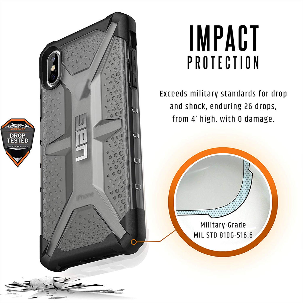 Shop Australia stock UAG PLASMA ARMOR SHELL CASE FOR IPHONE XS MAX - ASH with free shipping online. Shop UAG collections with afterpay Australia Stock