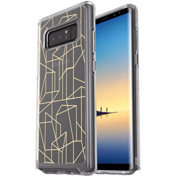 place to buy genuine see through case from OTTERBOX SYMMETRY CLEAR GRAPHICS SLIM CASE FOR GALAXY NOTE 8 - DROP ME A LINE. Free express shipping Australia.