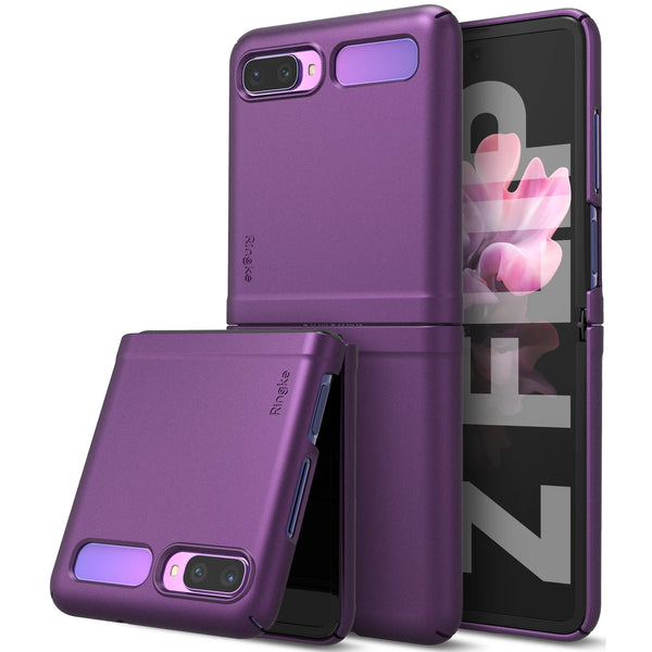 Shop Australia stock Ringke Slim Lightweight Rugged Case For Galaxy Z Flip - Purple with free shipping online. Shop Ringke collections with afterpay