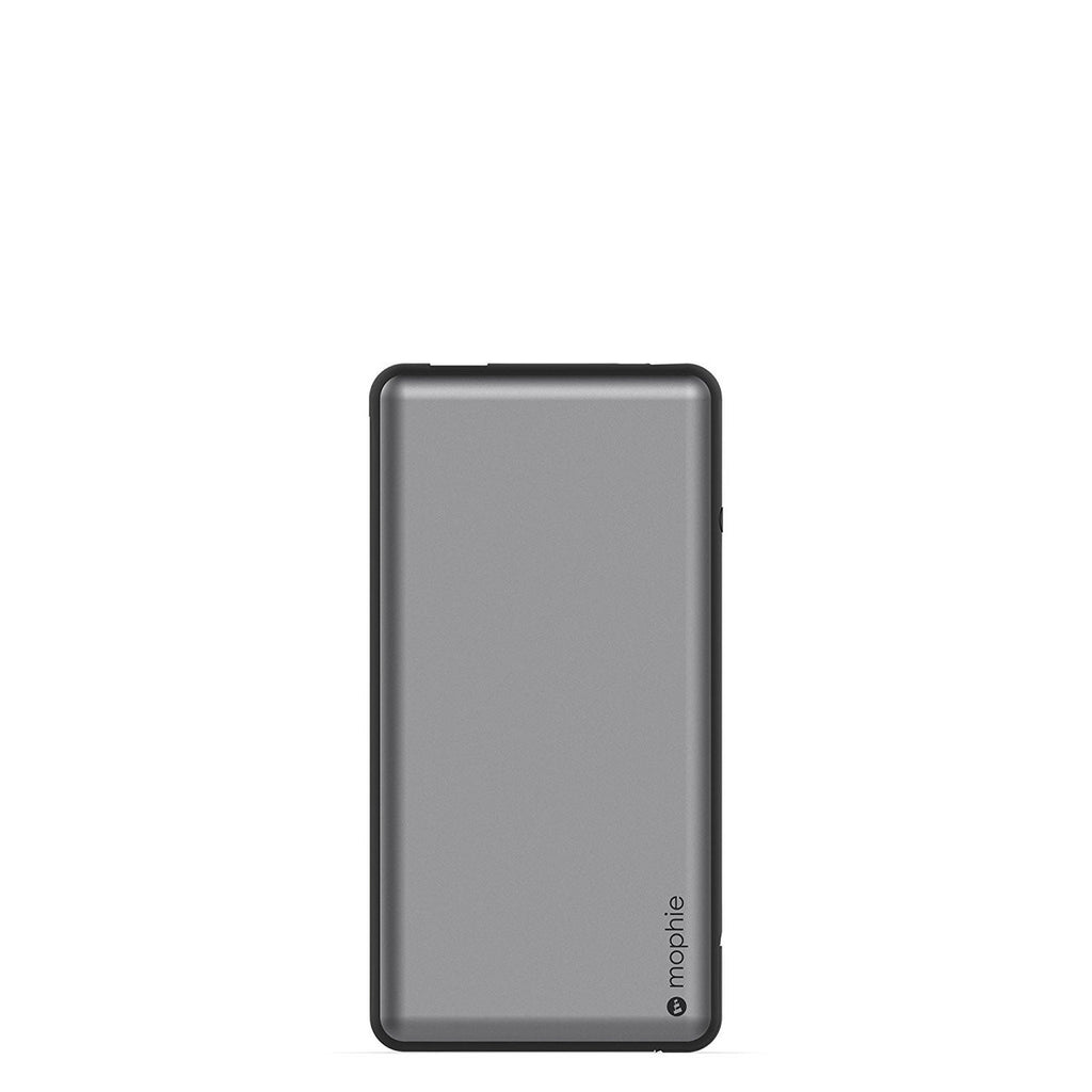 Mophie Powerstation Plus XL 12000mAh External Battery Power Bank with Built in Cables - Grey Australia Stock
