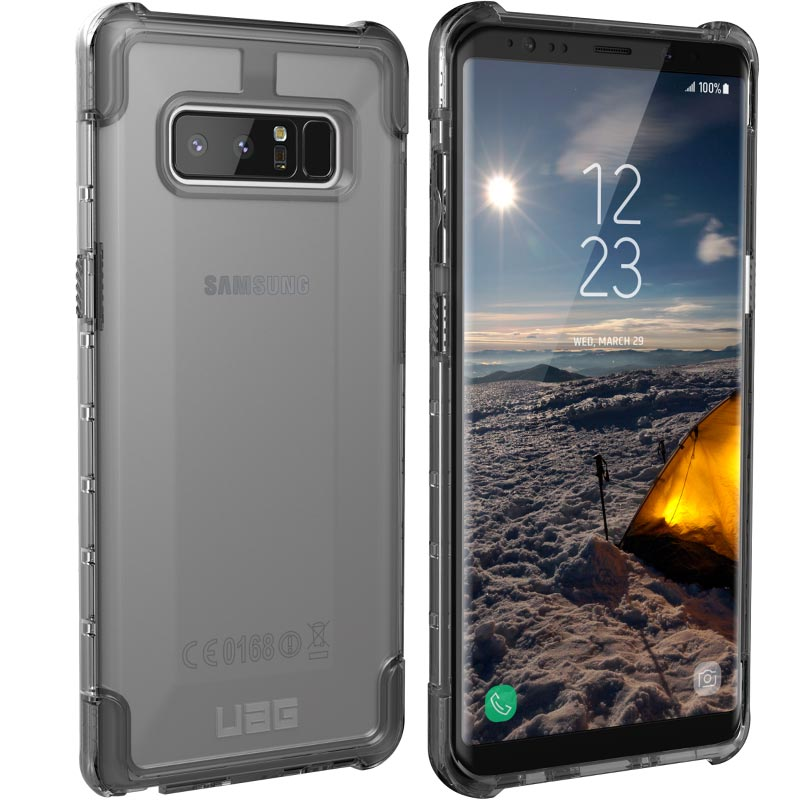 Buy Uag Plyo Rugged Armor Shell Case For Galaxy Note 8 Ice Australia Australia Stock