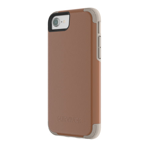 Shop Australia stock GRIFFIN SURVIVOR PRIME LEATHER CASE FOR iPHONE 8/7/6S - BROWN with free shipping online. Shop Griffin collections with afterpay