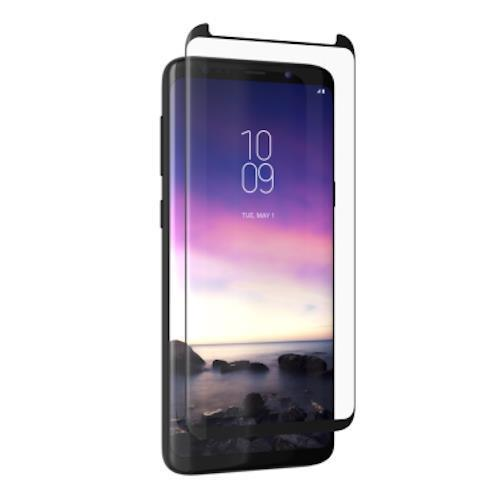 ZAGG INVISIBLE SHIELD GLASS CURVE ELITE TEMPERED GLASS SCREEN PROTECTOR FOR GALAXY S9