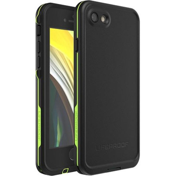 LIFEPROOF FRE 360° WATERPROOF CASE FOR IPHONE SE (2ND GEN) - BLACK/LIME