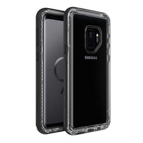 LIFEPROOF NEXT RUGGED CASE FOR GALAXY S9 - BLACK/CLEAR