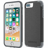 GRIFFIN SURVIVOR PRIME LEATHER CASE FOR iPHONE 8 PLUS/7 PLUS - BLACK