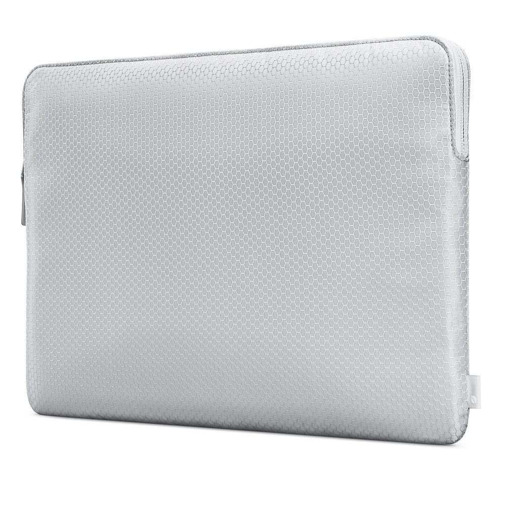 INCASE SLIM SLEEVE IN HONEYCOMB RIPSTOP FOR MACBOOK PRO 15 INCH - SILVER Australia Stock