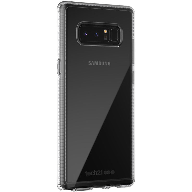 TECH21 PURE CLEAR BULLETSHIELD ULTRA SLIM CASE FOR GALAXY NOTE 8 - CLEAR Australia Stock