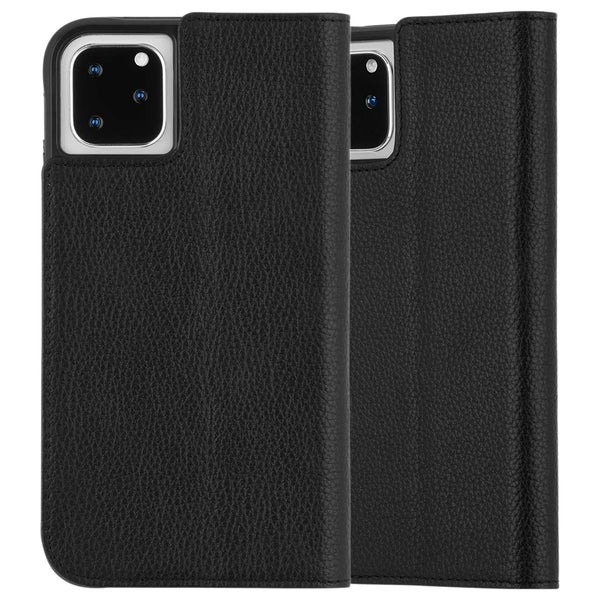 "Shop Australia stock CaseMate Leather Wallet Folio Case For iPhone 11 Pro (5.8"") - Black with free shipping online. Shop Casemate collections with afterpay"