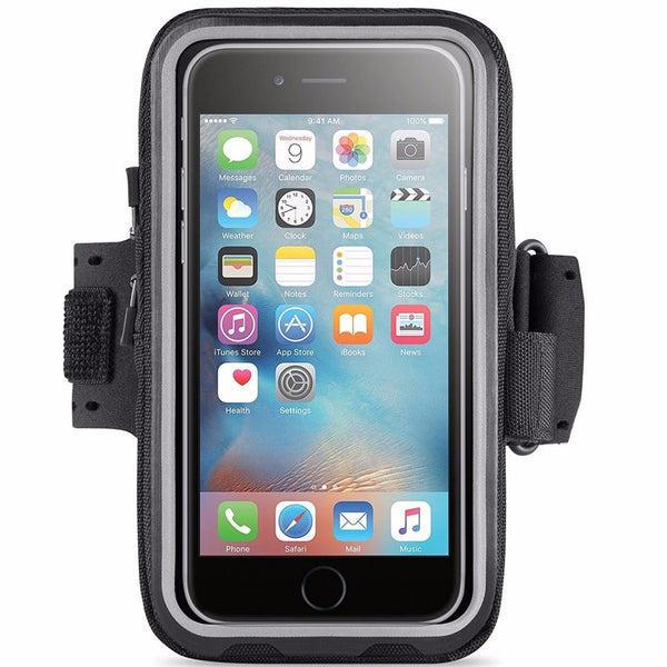 best price Belkin Storage Plus Armband for iPhone 6s/6 - Black in australia