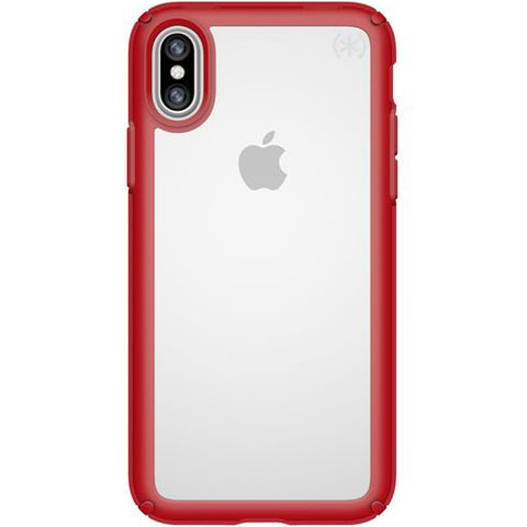 Shop Australia stock SPECK PRESIDIO SHOW iMPACTIUM CASE FOR iPHONE XS/X - RED/CLEAR with free shipping online. Shop Speck collections with afterpay