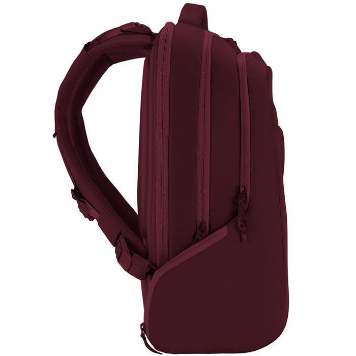 authorized distributor online store incase icon backpack bag for macbook, tab, ipad, tablet, notebook, laptop, netbook, deep red colour australia Australia Stock