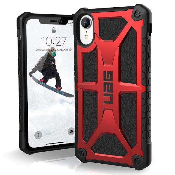 Grab it fast while stock last MONARCH HANDCRAFTED RUGGED CASE FOR IPHONE XR - CRIMSON from UAG with free shipping Australia wide.