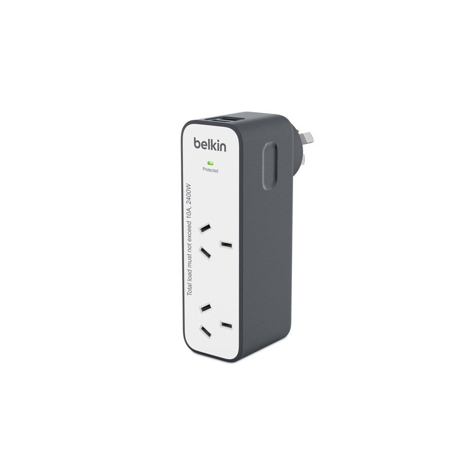 Best place to buy Belkin Domestic Travel Surge With 2 Usb Ports Australia Stock