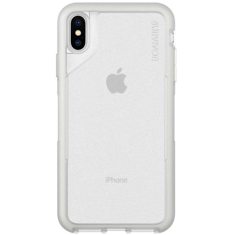 Place to buy SURVIVOR ENDURANCE CASE FOR IPHONE XS/X - CLEAR/GRAY From GRIFFIN online in Australia free shipping & afterpay.
