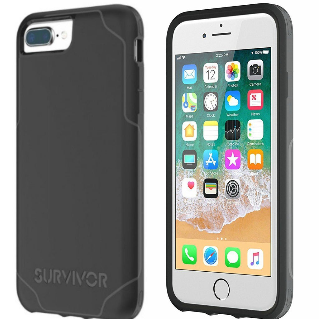 place to get and buy Griffin Survivor Strong Case For Iphone 8 Plus/7 Plus - Black/Grey. Free shipping Australia wide from Authorized distributor Syntricate. Australia Stock