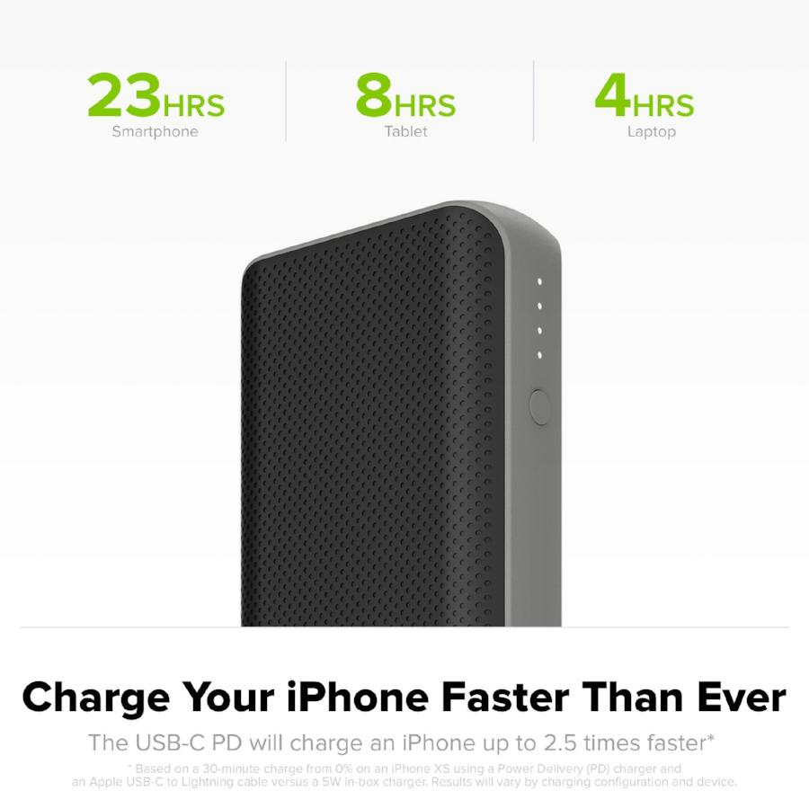 Shop Australia stock MOPHIE POWERSTATION PD 6700mAH USB-C PORTABLE BATTERY - BLACK with free shipping online. Shop Mophie collections with afterpay Australia Stock