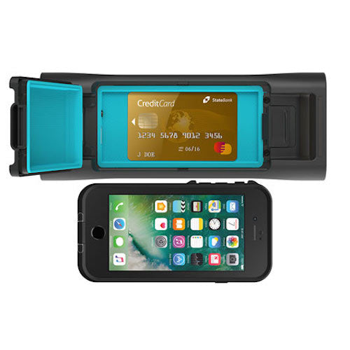 LIFEPROOF AQUAPHONICS AQ10 PORTABLE BLUETOOTH WATERPROOF SPEAKER - OBSIDIAN SAND BLACK Australia Stock