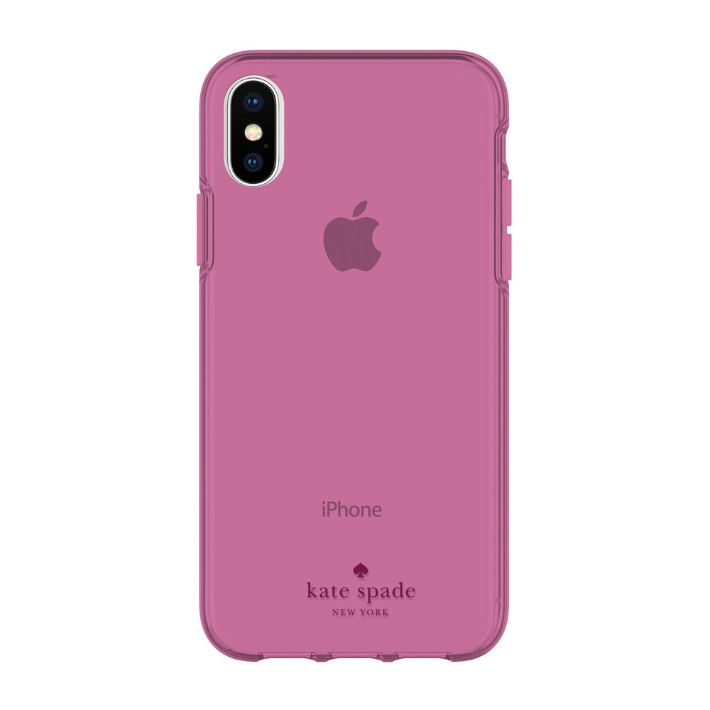 Shop Australia stock KATE SPADE NEW YORK FLEXIBLE CASE FOR IPHONE XS/X - PURPLE TINTED with free shipping online. Shop Kate Spade New York collections with afterpay Australia Stock