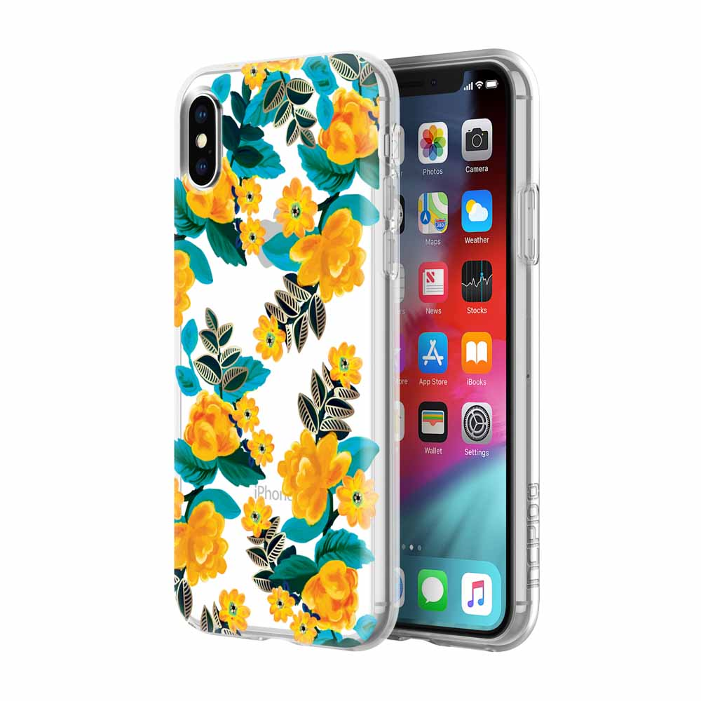 flower pattern case from incipio australia for iphone xs & iphone X with free shipping Australia Stock