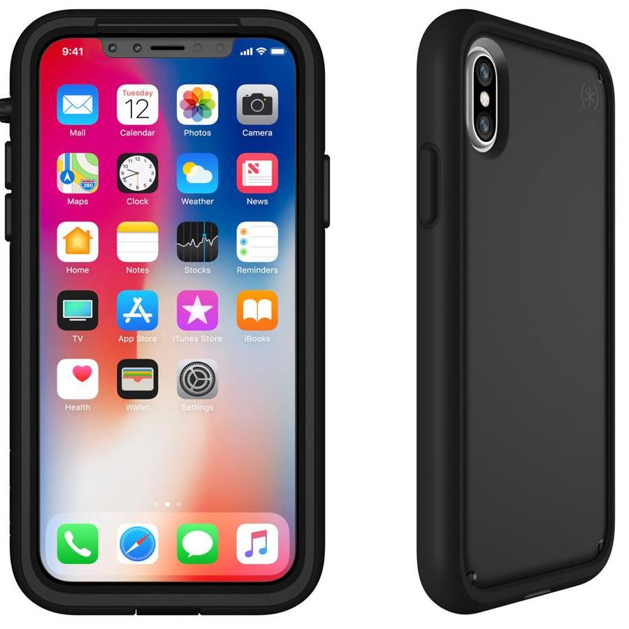 reputable site 2e080 28b40 SPECK PRESIDIO ULTRA RUGGED CASE FOR IPHONE XS/X - BLACK/BLACK