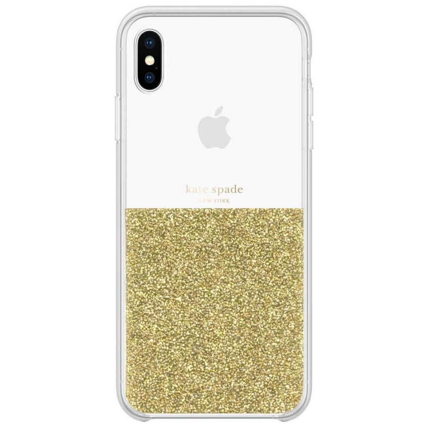 half gold glitter case for iphone xs max Australia Stock