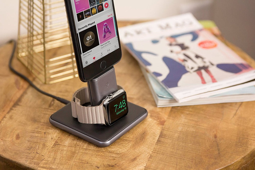Twelve South HiRise Duet Charging Stand Dock for Apple Watch & iPhone Australia Stock