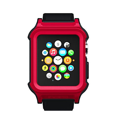 Shop Australia stock Incipio Octane Military-Graded Band for Apple Watch 42mm (Series 1) - Red/Black with free shipping online. Shop Incipio collections with afterpay