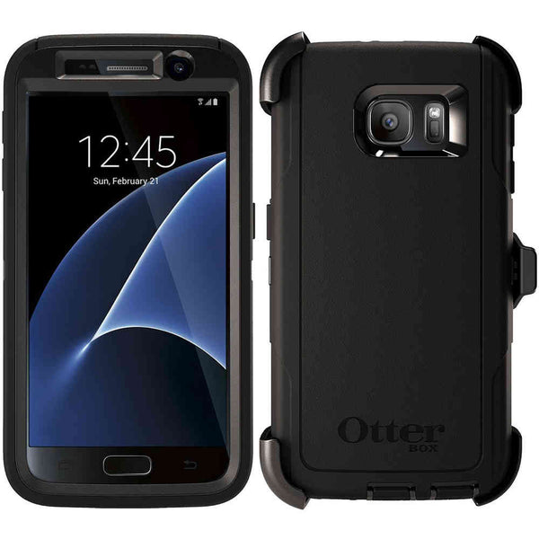OtterBox Defender Case for Samsung Galaxy S7 - Black