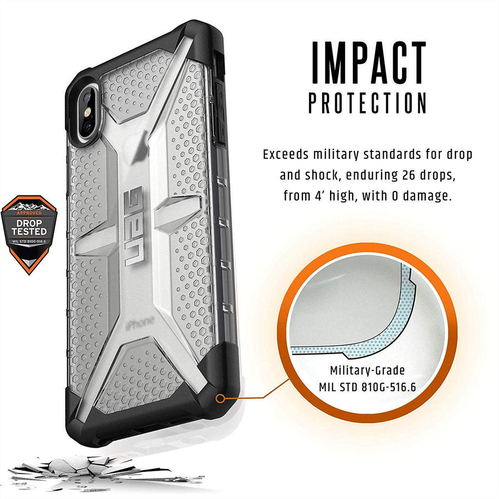 Shop Australia stock UAG PLASMA ARMOR SHELL CASE FOR IPHONE XS MAX - ICE with free shipping online. Shop UAG collections with afterpay Australia Stock