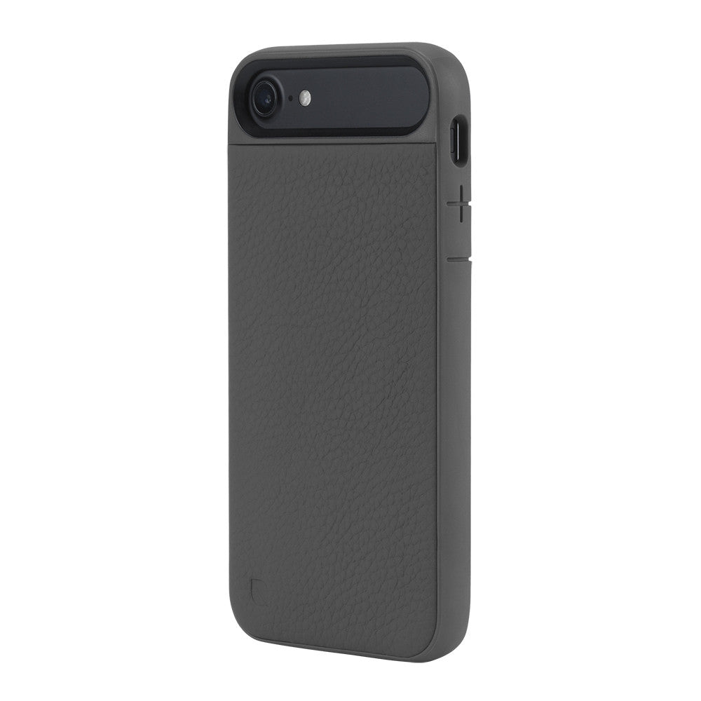 best deal genuine Incase Icon II Pebbled Leather TENSAERLITE Case for iPhone 8/iPhone 7 - Grey colour australia syntricate  Australia Stock