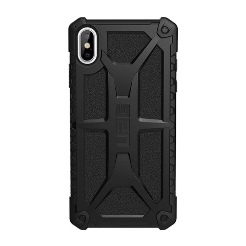 back view uag monarch rugged case IPHONE XS MAX