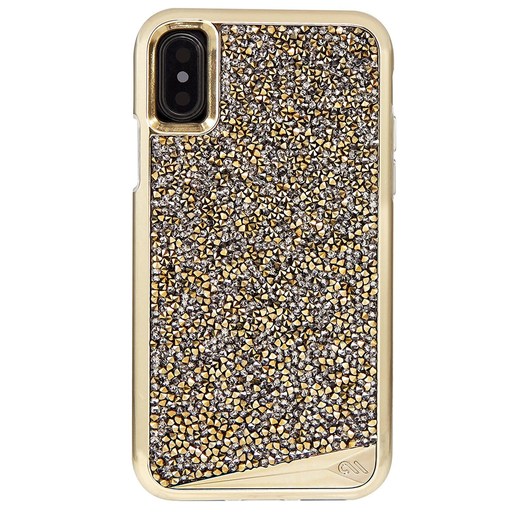 casemate brilliance tough genuine crystal case for iphone x champagne Australia Stock